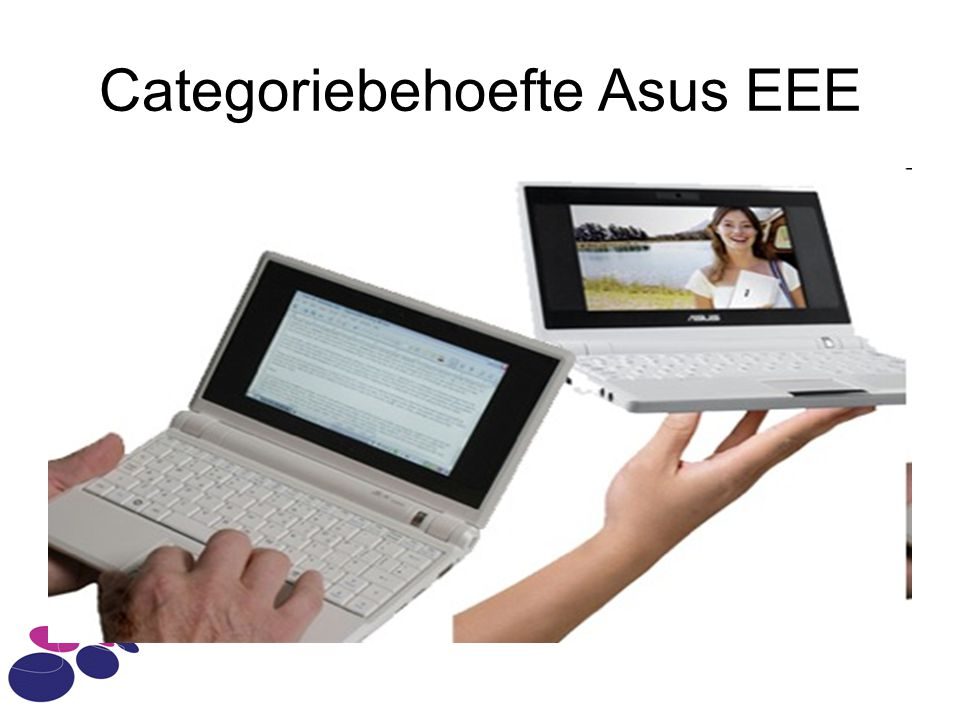 Categoriebehoefte Asus EEE