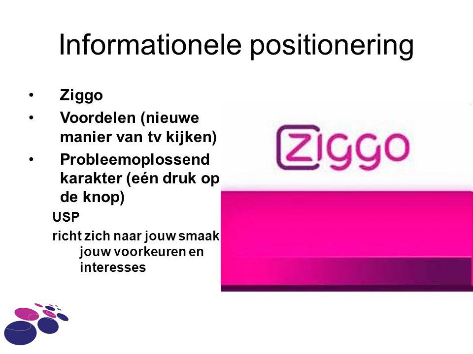 Informationele positionering