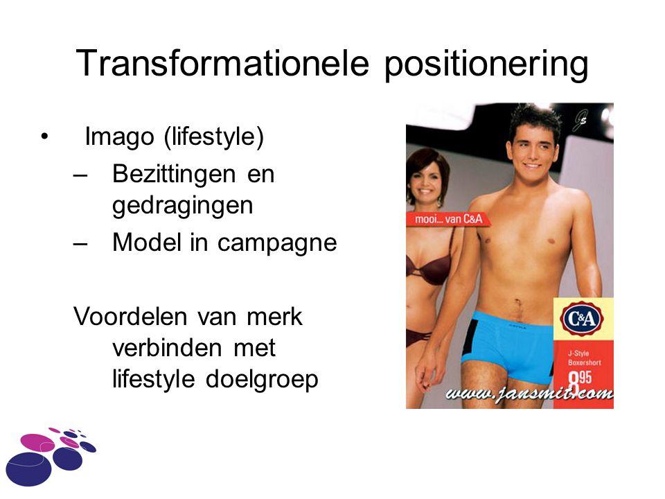Transformationele positionering