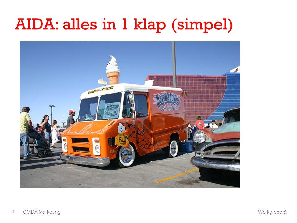 AIDA: alles in 1 klap (simpel)