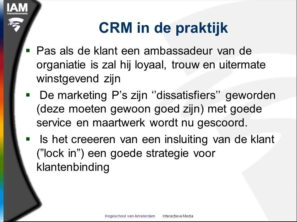 Hogeschool van Amsterdam Interactieve Media
