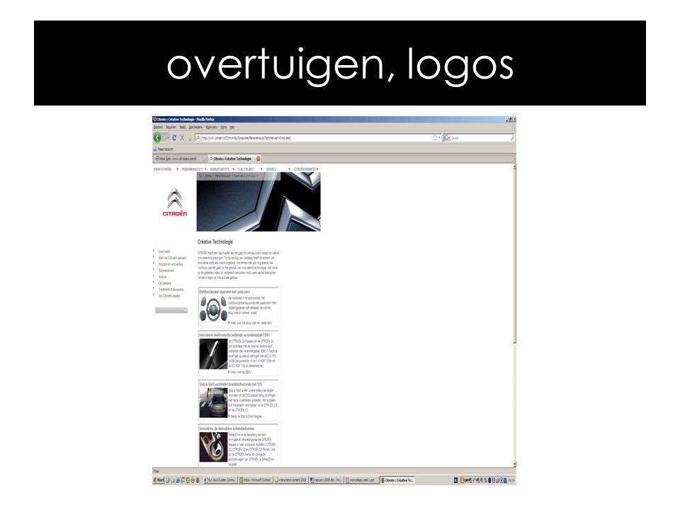 overtuigen, logos