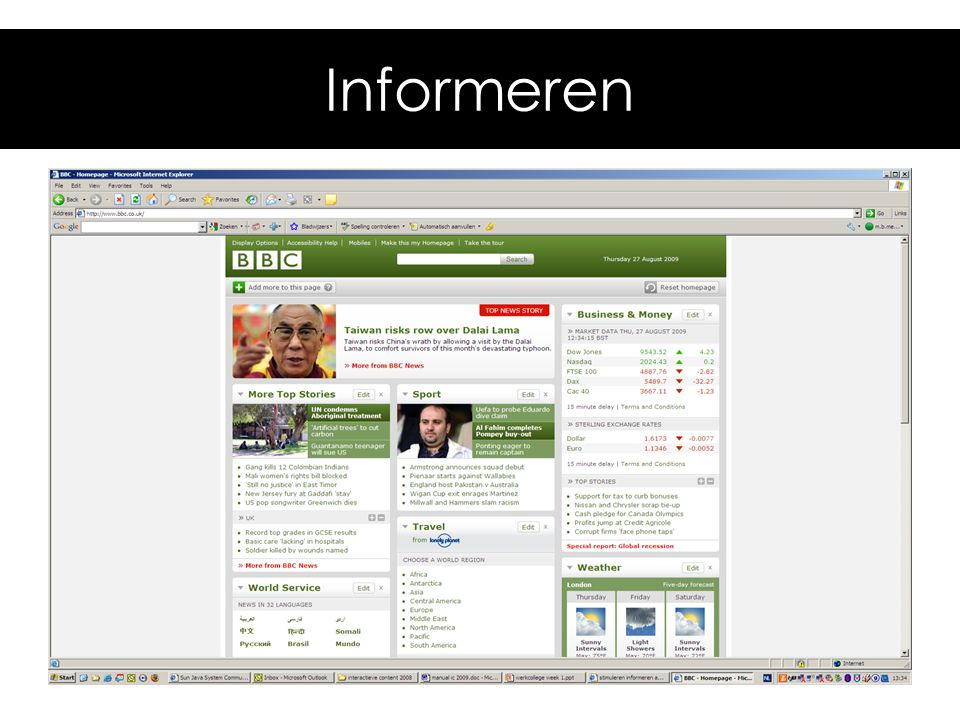 Informeren