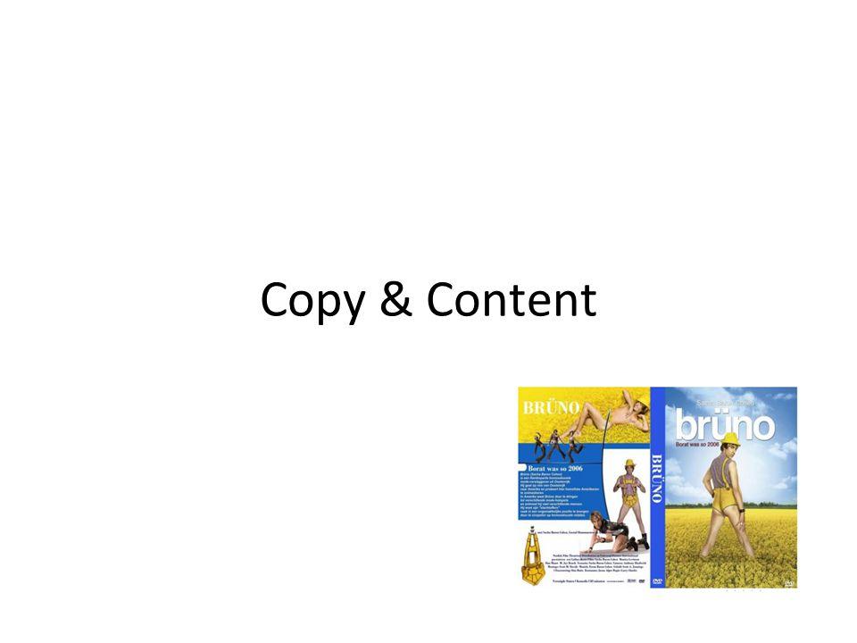 Copy & Content