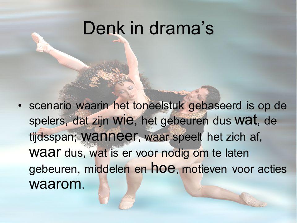Denk in drama's