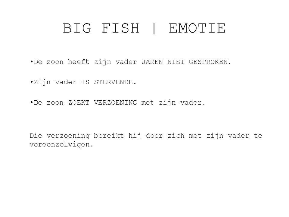 BIG FISH | EMOTIE De zoon heeft zijn vader JAREN NIET GESPROKEN.