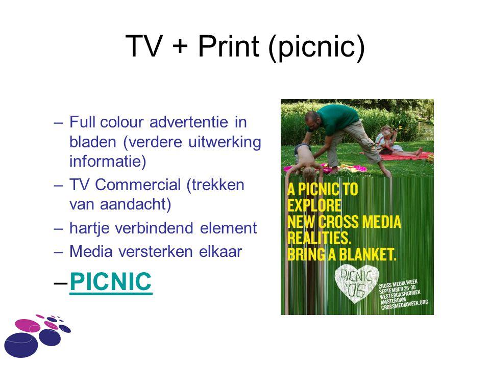 TV + Print (picnic) PICNIC
