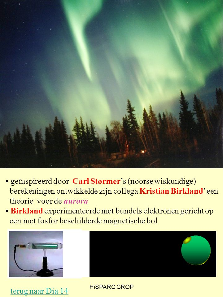 In dezelfde tijd als waarin Bothe en Kóhlhorster het breedtegraadseffect verklaarden, kwamen Stoermer en Birkland erachter dat het Noorderlicht op hetzelfde mechanisme berustte. De deeltjes die vanaf de zon komen hebben zo weinig snelheid dat de aarde in staat is ze af te buigen naar de polen. Hierbij wordt deze straling uiteindelijk zichtbaar als Poollicht.