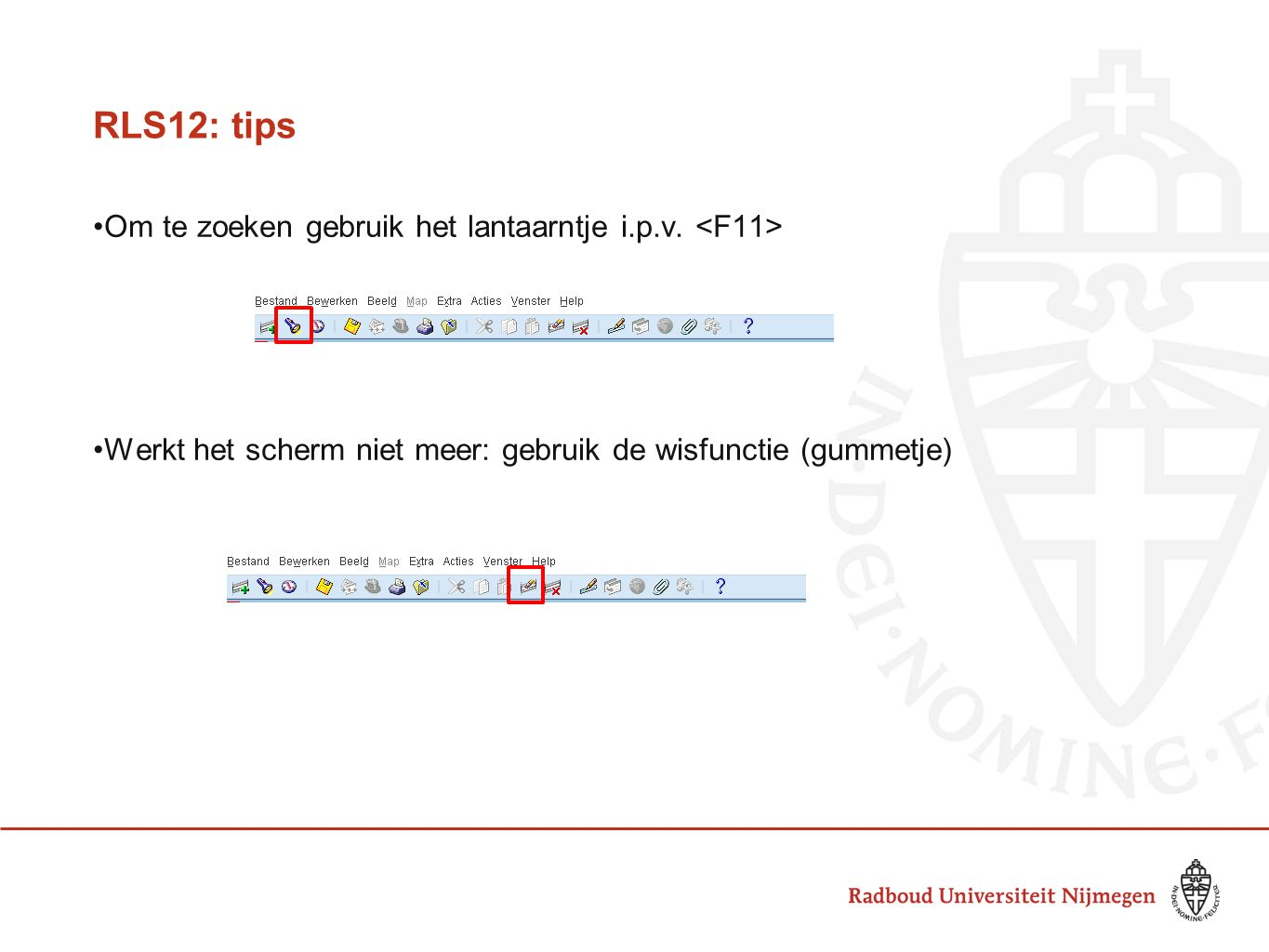 Projectadministratie RLS12 - ppt download