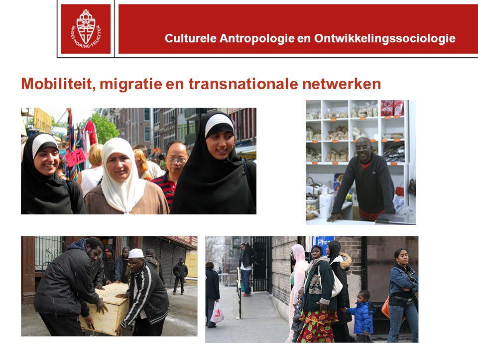 Mobiliteit, migratie en transnationale netwerken
