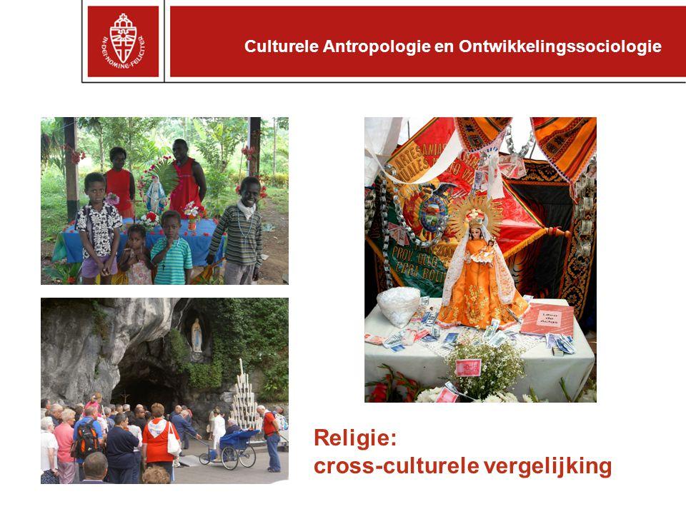 Religie: cross-culturele vergelijking