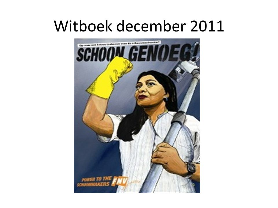 Witboek december 2011