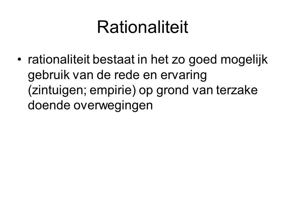 Rationaliteit