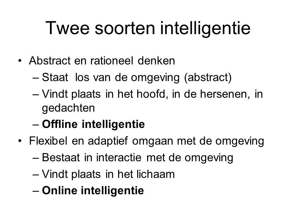 Twee soorten intelligentie
