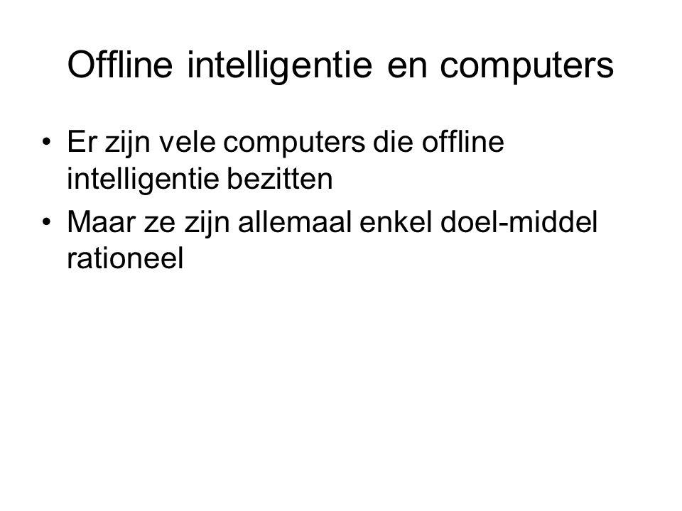 Offline intelligentie en computers
