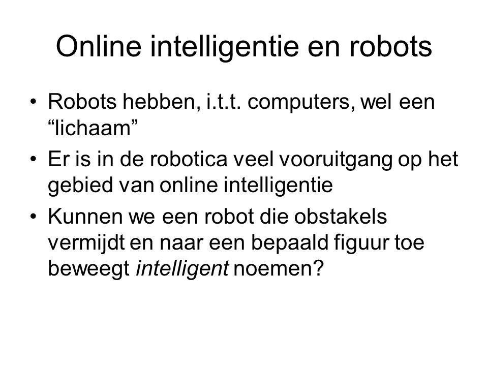 Online intelligentie en robots