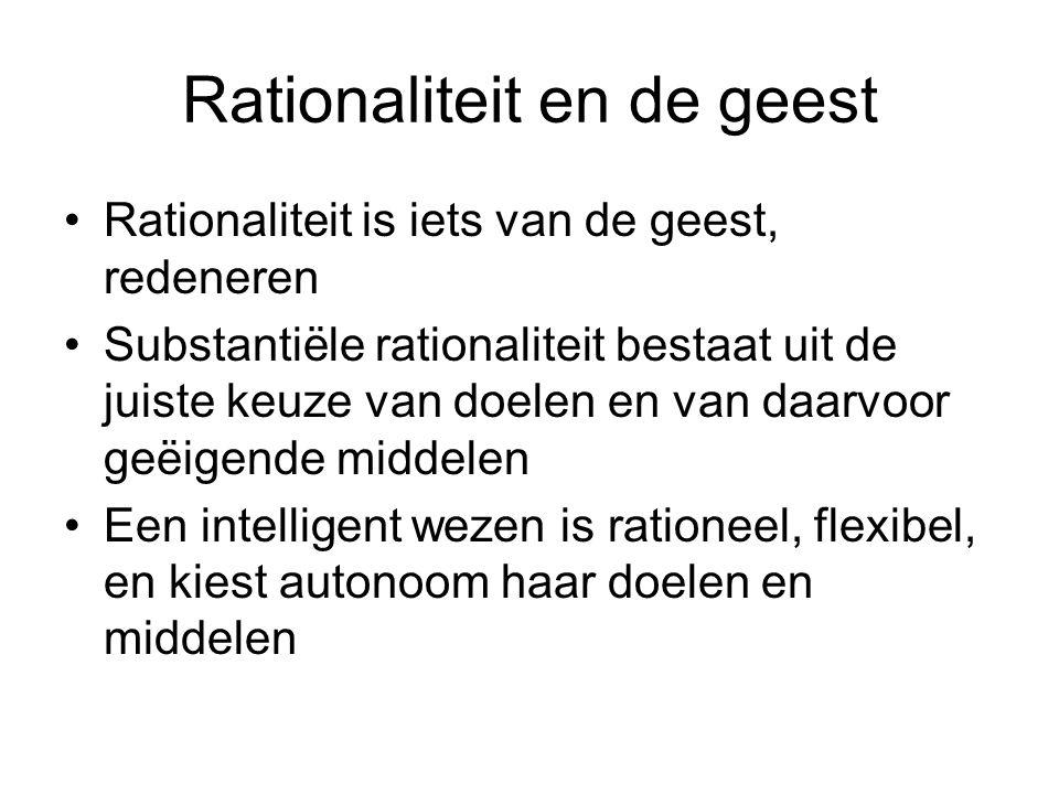 Rationaliteit en de geest