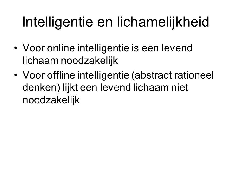 Intelligentie en lichamelijkheid