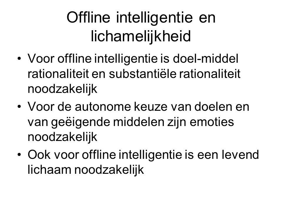 Offline intelligentie en lichamelijkheid