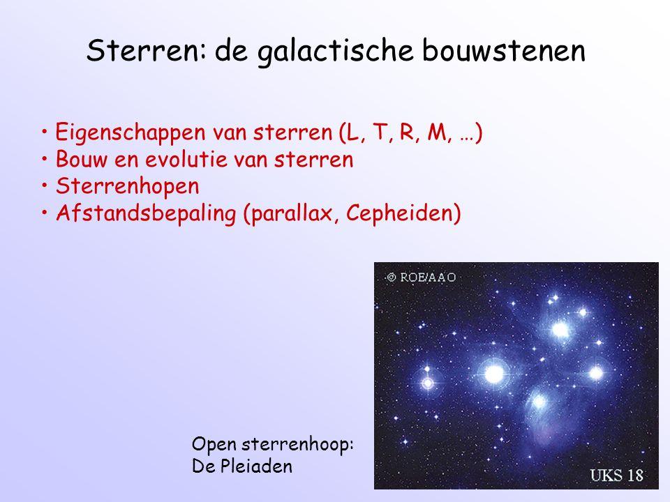 Sterren: de galactische bouwstenen