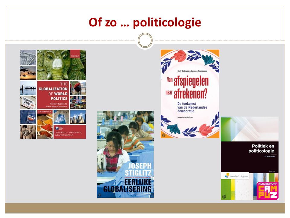 Of zo … politicologie