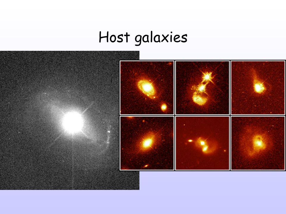 Host galaxies