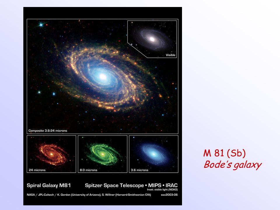 M 81 (Sb) Bode's galaxy