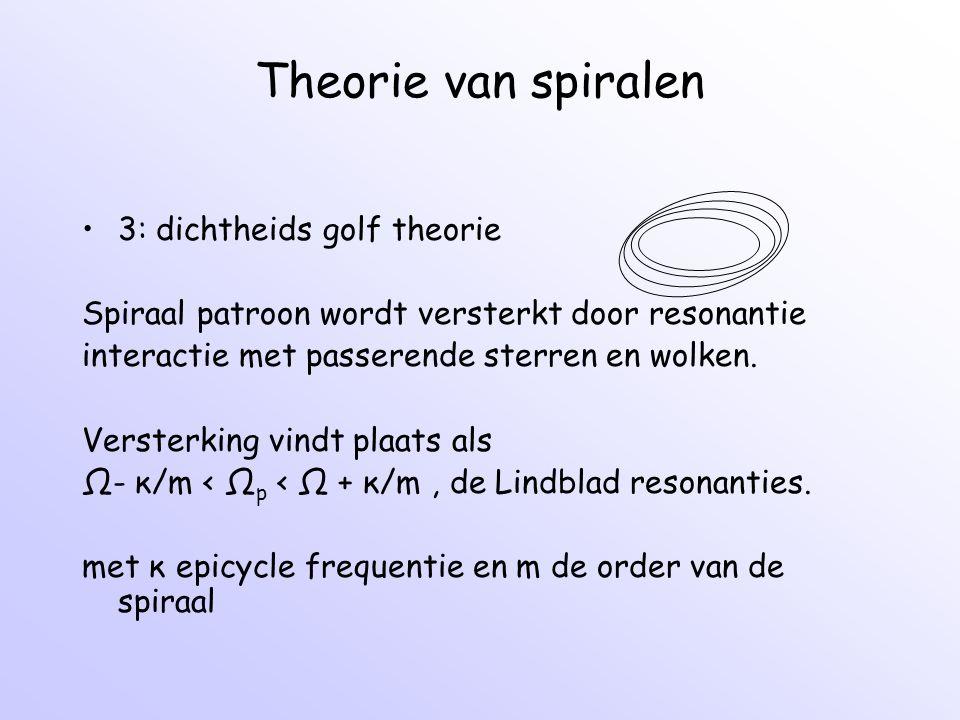 Theorie van spiralen 3: dichtheids golf theorie