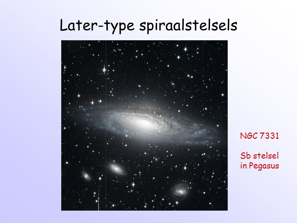 Later-type spiraalstelsels