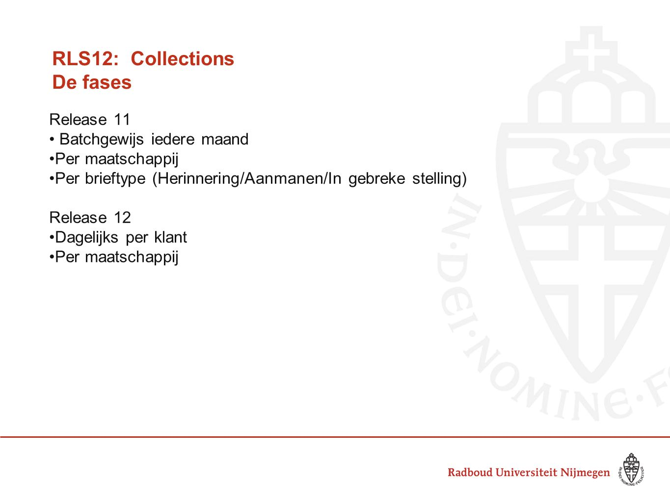 RLS12: Collections De fases