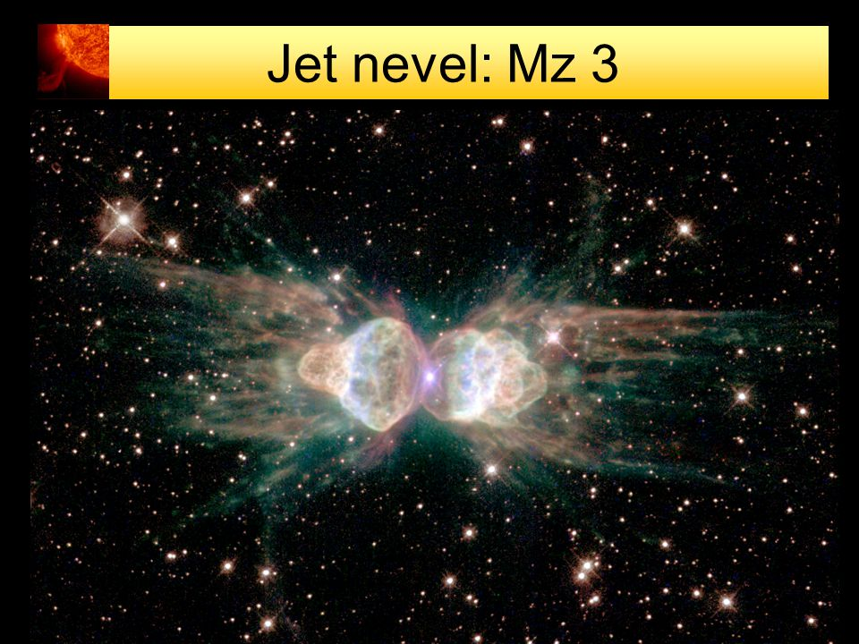 Jet nevel: Mz 3