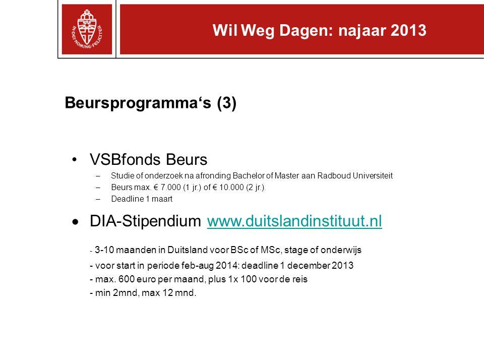 - 3-10 maanden in Duitsland voor BSc of MSc, stage of onderwijs