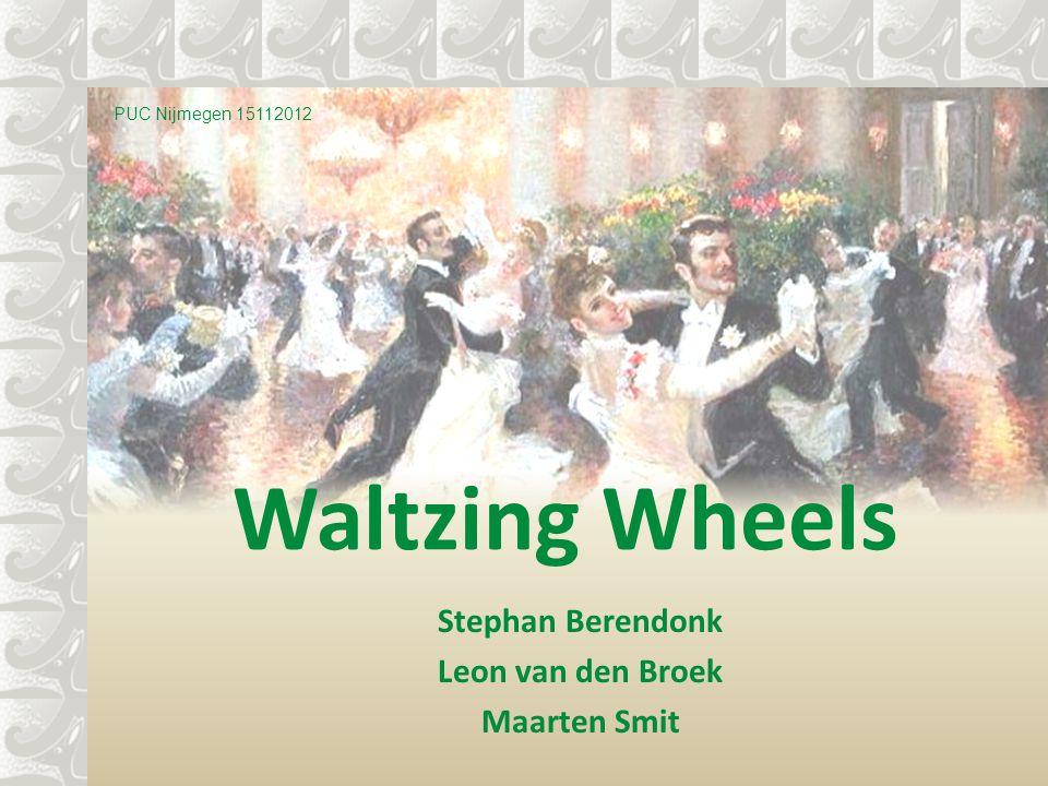 Stephan Berendonk Leon van den Broek Maarten Smit