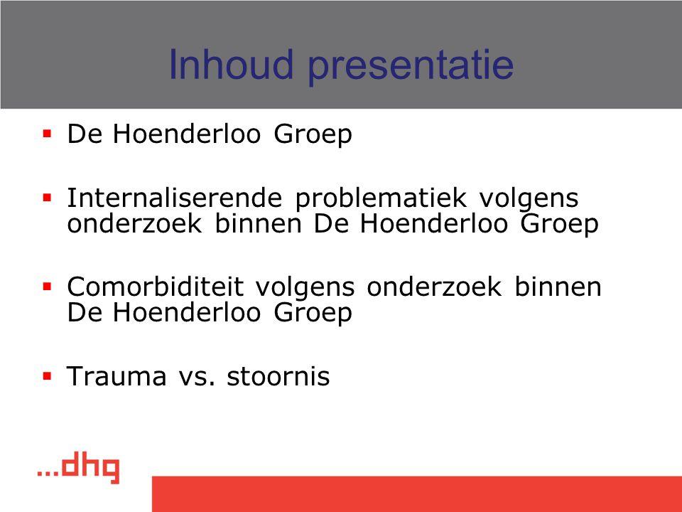 Inhoud presentatie De Hoenderloo Groep