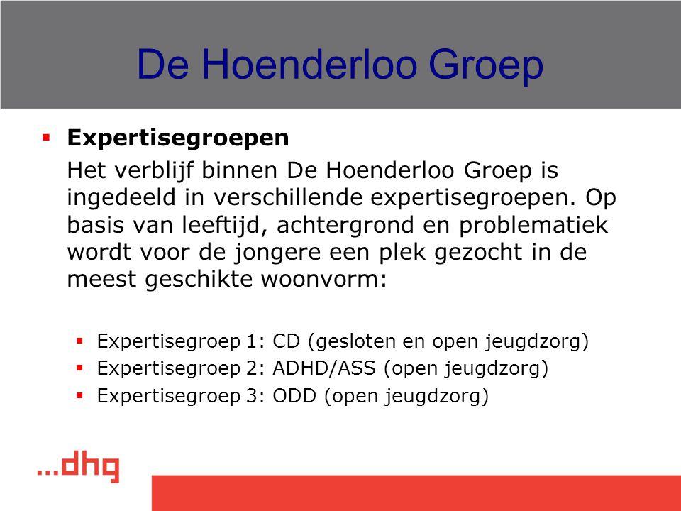 De Hoenderloo Groep Expertisegroepen