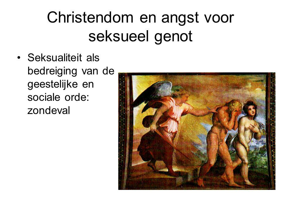 Christendom en angst voor seksueel genot