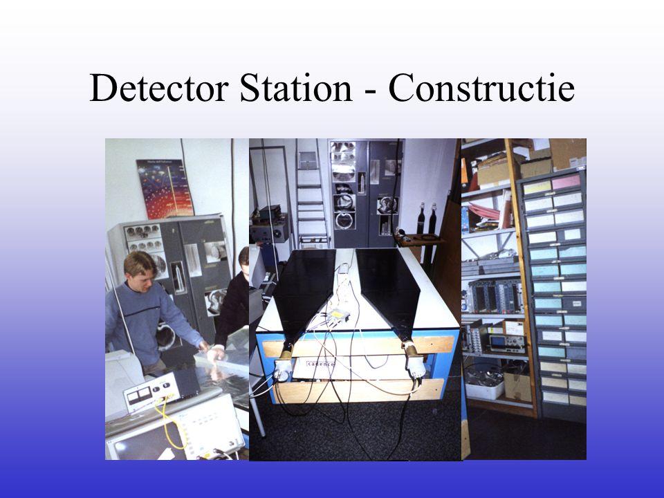 Detector Station - Constructie