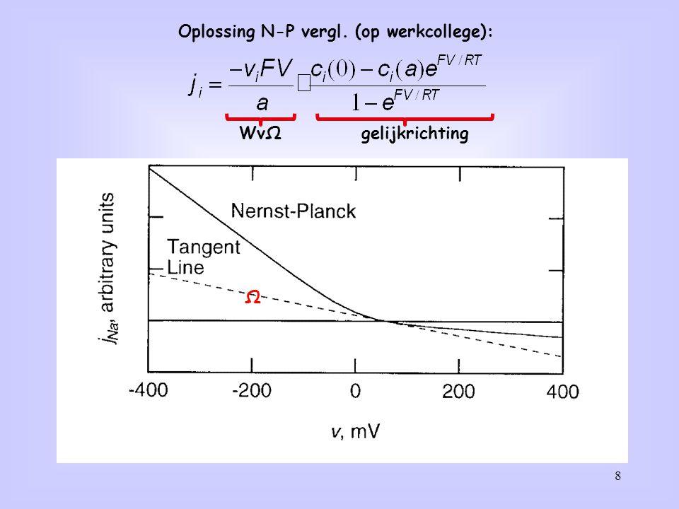 Oplossing N-P vergl. (op werkcollege):