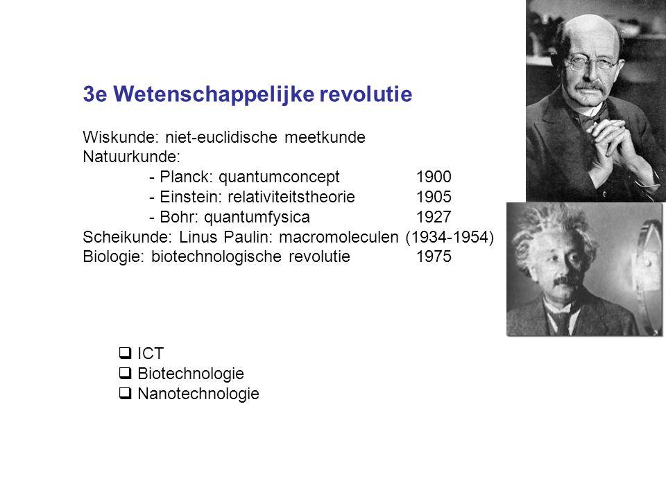 3e Wetenschappelijke revolutie