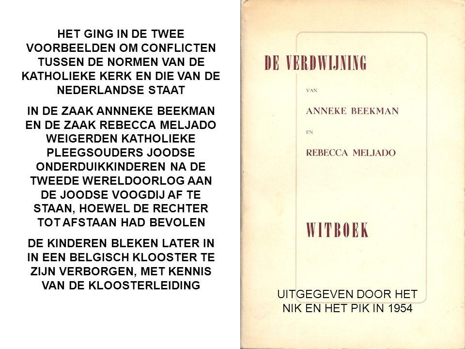 UITGEGEVEN DOOR HET NIK EN HET PIK IN 1954