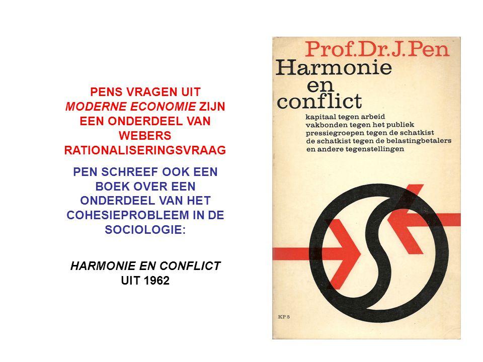 HARMONIE EN CONFLICT UIT 1962