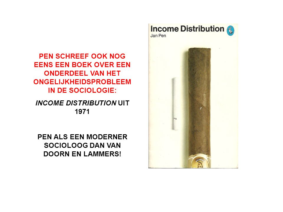 INCOME DISTRIBUTION UIT 1971