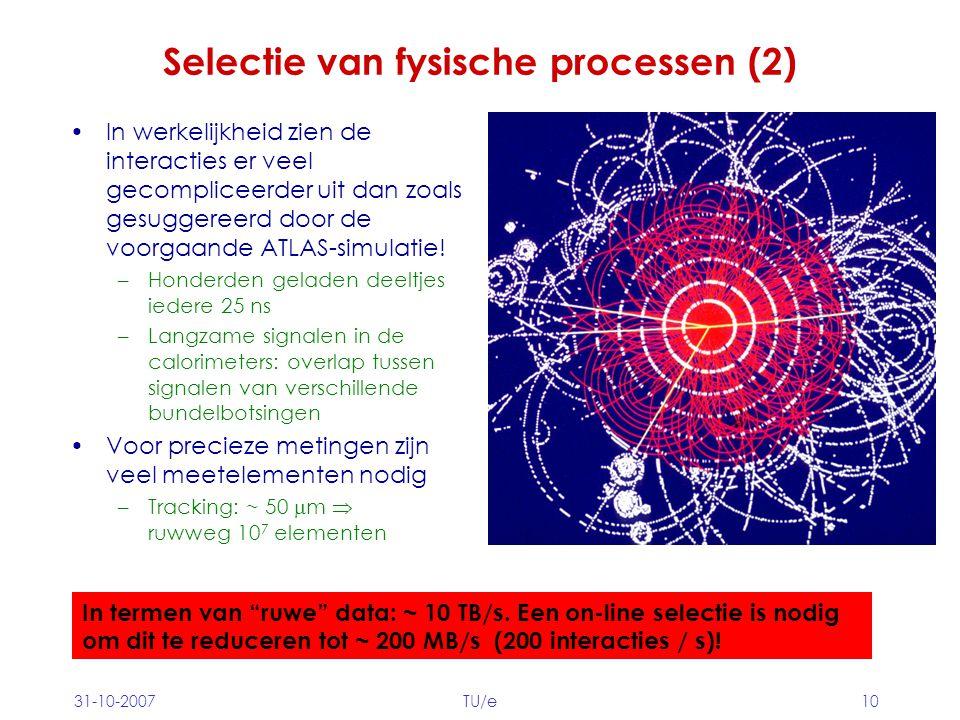 Selectie van fysische processen (2)