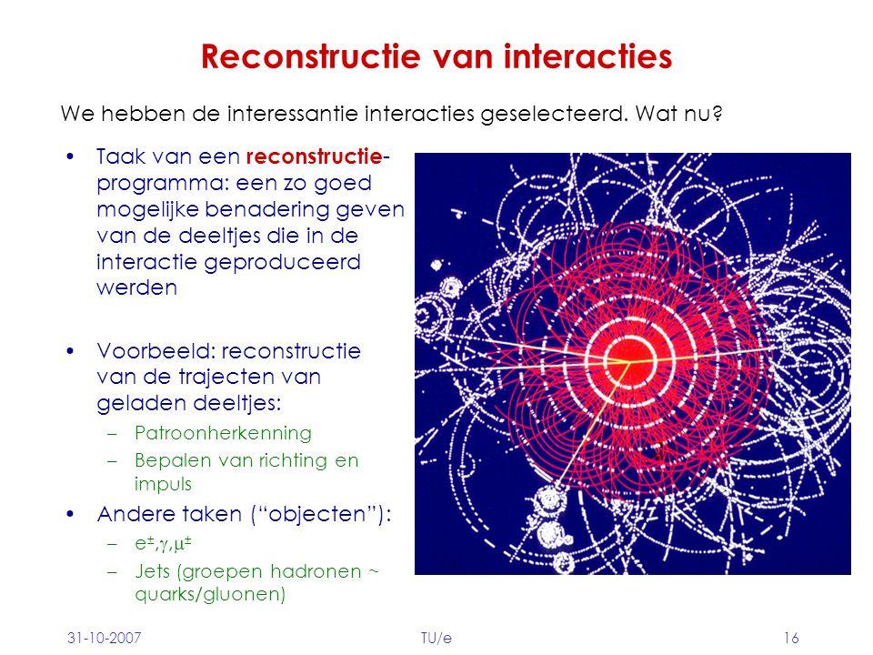 Reconstructie van interacties
