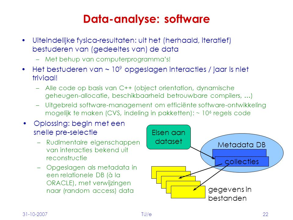 Data-analyse: software