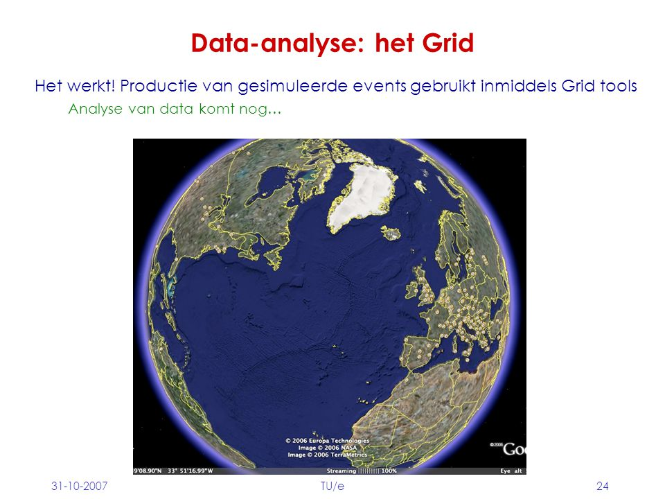 Data-analyse: het Grid