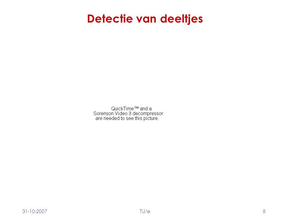 Detectie van deeltjes 31-10-2007 TU/e