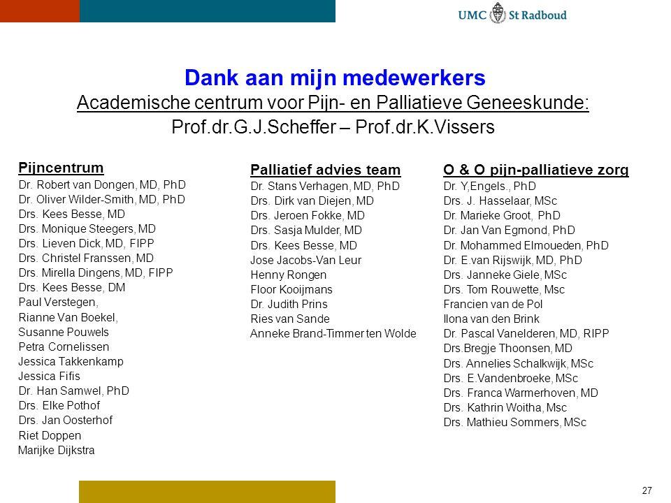 Palliatief consult team UMC St Radboud