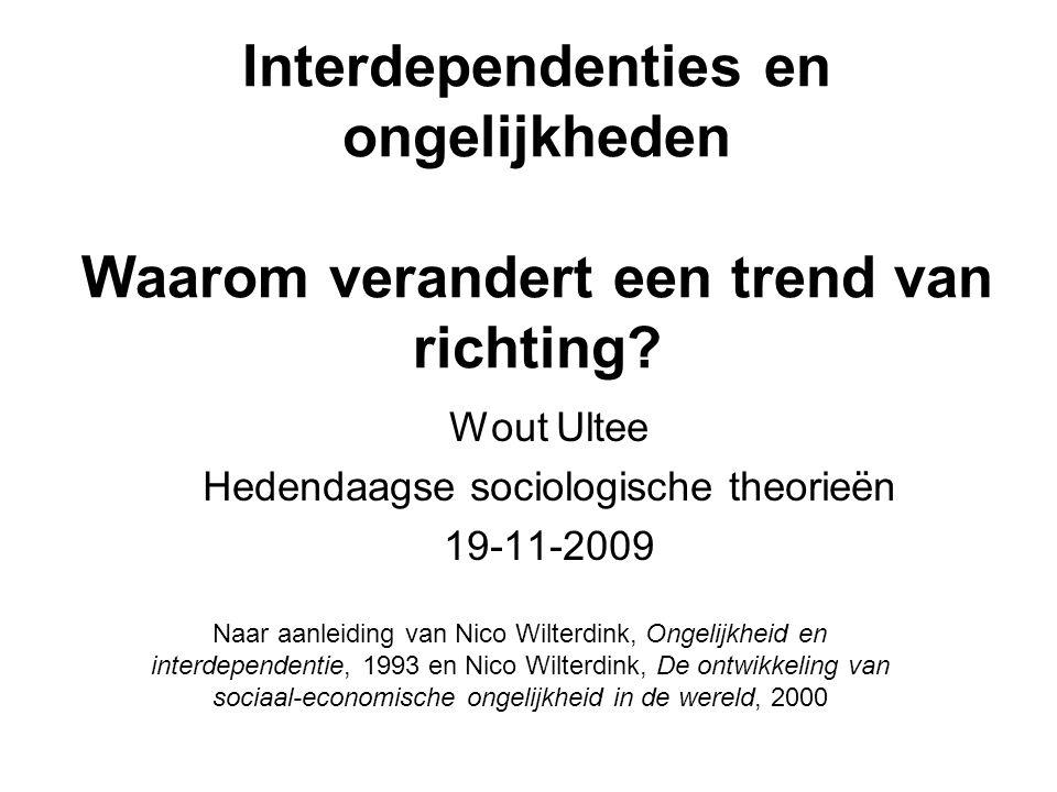 Wout Ultee Hedendaagse sociologische theorieën 19-11-2009