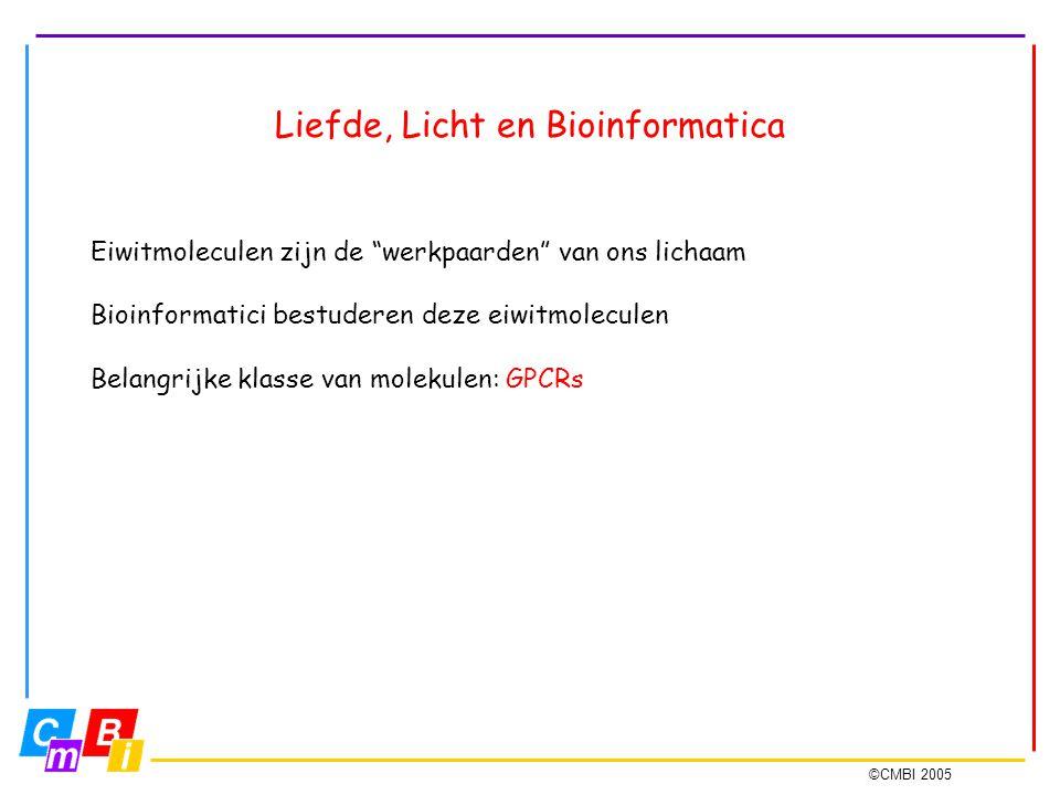 Liefde, Licht en Bioinformatica